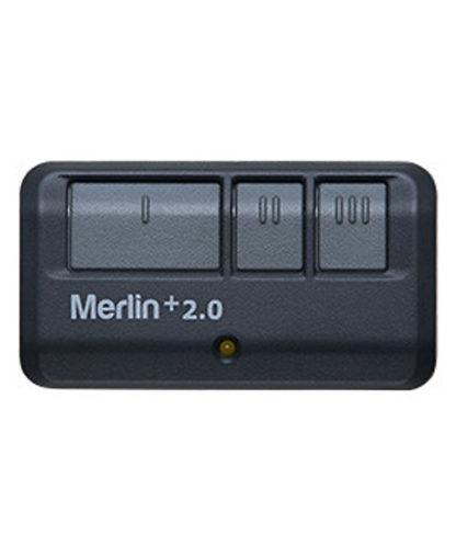 E943M - Three Button Remote Control with Car Visor Clip (Security+ 2.0)