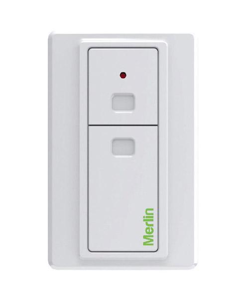 E138m Wireless Wall Button Merlin Garage Door Remotes